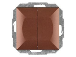 Łącznik modułowy PERŁA świecznikowy z podśw. WP-2P/S miedź Abex