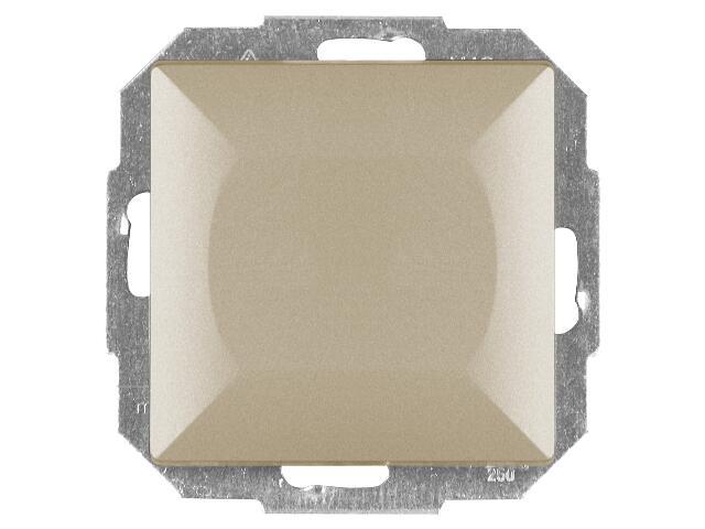 Łącznik modułowy PERŁA światło/dzwonek z podśw. WP-6/7P/S satyna Abex