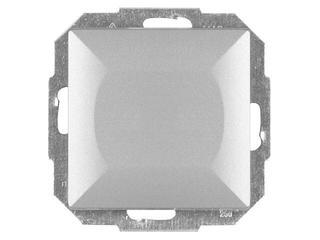 Łącznik modułowy PERŁA światło/dzwonek z podśw. WP-6/7P/S srebrny Abex