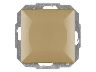 Łącznik modułowy PERŁA światło/dzwonek z podśw. WP-6/7P/S złoty Abex
