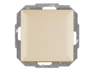 Łącznik modułowy PERŁA światło/dzwonek z podśw. WP-6/7P/S beżowy Abex