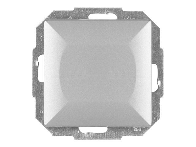 Łącznik modułowy PERŁA światło/dzwonek WP-6/7P srebrny Abex