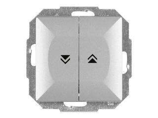 Łącznik modułowy PERŁA żaluzjowy zwierny WP-10P srebrny Abex