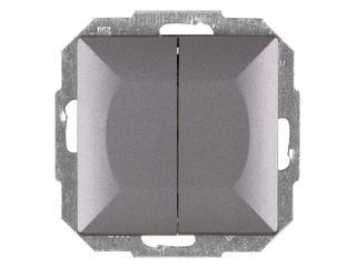 Łącznik modułowy PERŁA świecznikowy z podśw. WP-2P/S antracyt Abex