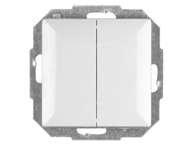 Łącznik modułowy PERŁA świecznikowy z podśw. WP-2P/S biały Abex