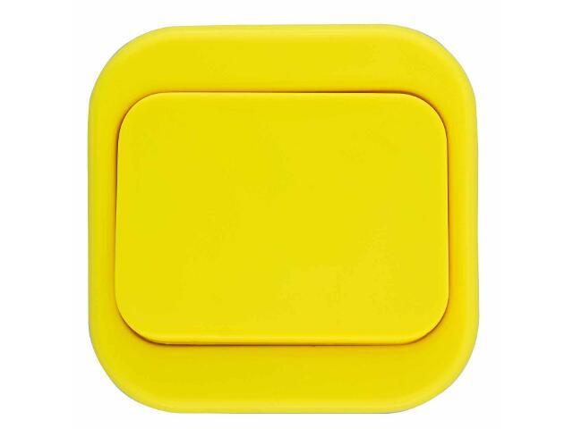 Łącznik natynkowy MILLENIUM krzyżowy PLM.W-1K.ŻŁ.BK żółty Polmark