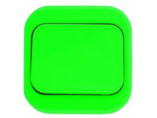 Łącznik natynkowy MILLENIUM krzyżowy PLM.W-1K.ZI.BK zielony Polmark