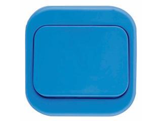 Łącznik natynkowy MILLENIUM pojedynczy PLM.W-1.NI.BK niebieski Polmark