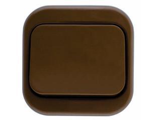 Łącznik natynkowy MILLENIUM schodowy PLM.W-1S.BR.BK brązowy Polmark