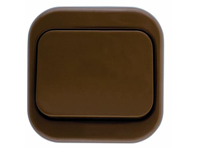 Łącznik natynkowy MILLENIUM krzyżowy PLM.W-1K.BR.BK brązowy Polmark
