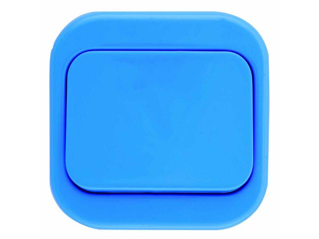 Łącznik natynkowy MILLENIUM krzyżowy PLM.W-1K.NI.BK niebieski Polmark