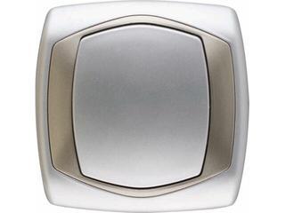 Łącznik natynkowy COMFORT schodowy ŁP-3X.SR/ST srebrny, satynowy Polmark