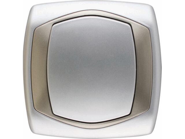 Łącznik natynkowy COMFORT krzyżowy ŁP-4X.SR/ST srebrny, satynowy Polmark