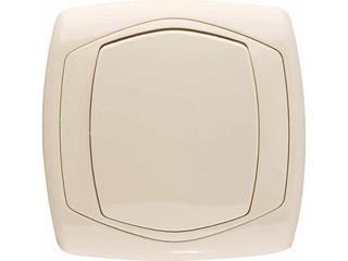 Łącznik natynkowy COMFORT jednobiegunowy ŁP-1X.JB jasnobeżowy Polmark