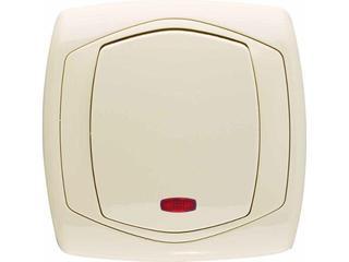 Łącznik COMFORT schodowy z podświetleniem ŁP-3XS.JB jasnobeżowy Polmark