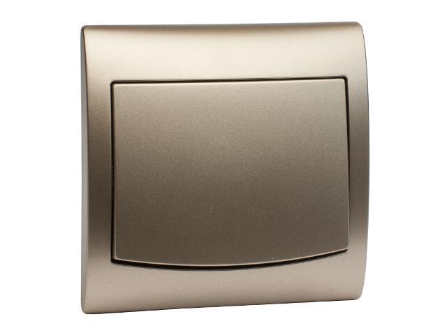Łącznik natynkowy VEGA pojedynczy ŁP-1V satynowy Polmark