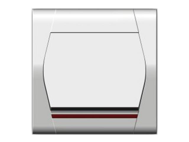 Łącznik FESTA jednobiegunowy z podświetleniem ŁPT-1 biały Elektro-plast N.