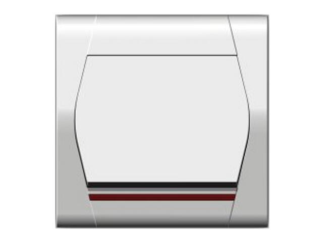 Łącznik natynkowy FESTA schodowy z podświetleniem ŁPT-6+n biały Elektro-plast N.