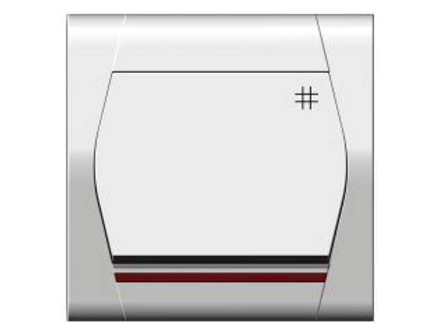 Łącznik natynkowy FESTA krzyżowy z podświetleniem ŁPT-7+n biały Elektro-plast N.