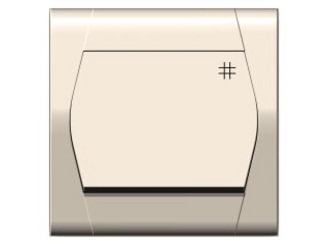 Łącznik natynkowy FESTA krzyżowy ŁPT-7 kremowy Elektro-plast N.