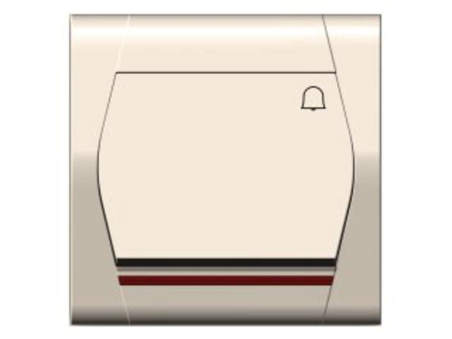 Łącznik natynkowy FESTA dzwonek z podświetleniem ŁPT-1D+n kremowy Elektro-plast N.