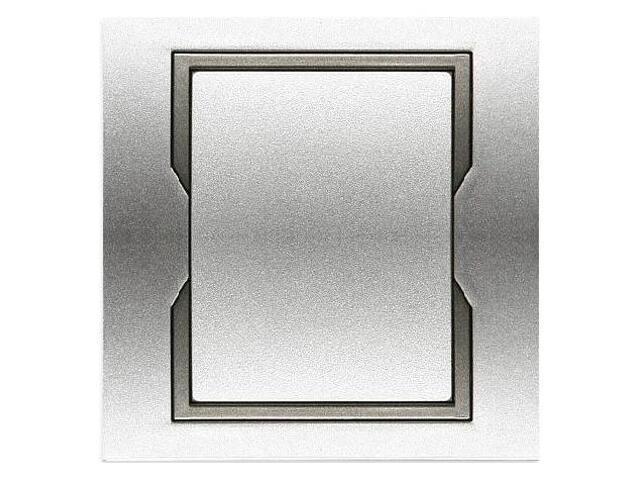 Łącznik QUATTRO jednobiegunowy ŁPT-1 srebrny grafitowy Elektro-plast N.