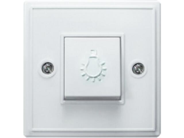 Łącznik natynkowy KAPPA zwierny światło biały Ospel