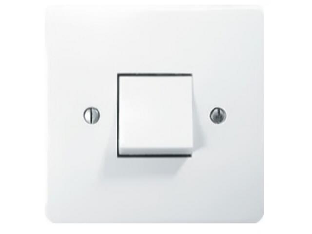 Łącznik natynkowy ETA zwierny światło biały Ospel