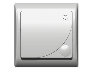 Łącznik natynkowy EFEKT zwierny dzwonek biały Ospel