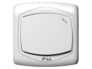Łącznik natynkowy TON schodowy IP-44 biały Ospel