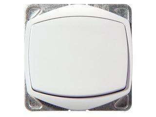 Łącznik modułowy TON COLOR SYSTEM zwierny światło bez ramki biały Ospel