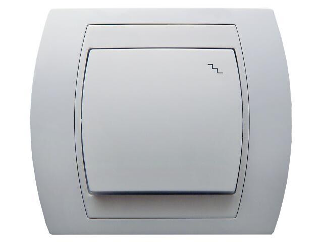 Łącznik natynkowy GAZELA schodowy biały Ospel