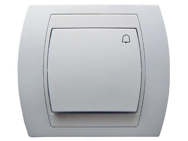 Łącznik natynkowy GAZELA zwierny dzwonek biały Ospel