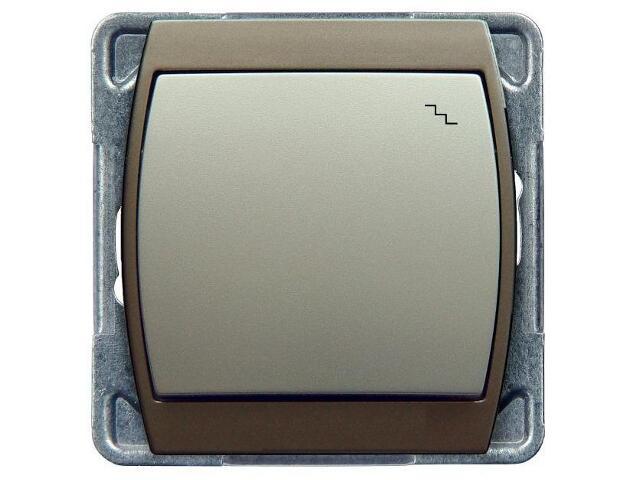 Łącznik modułowy GAZELA METALIC schodowy srebro tytan Ospel