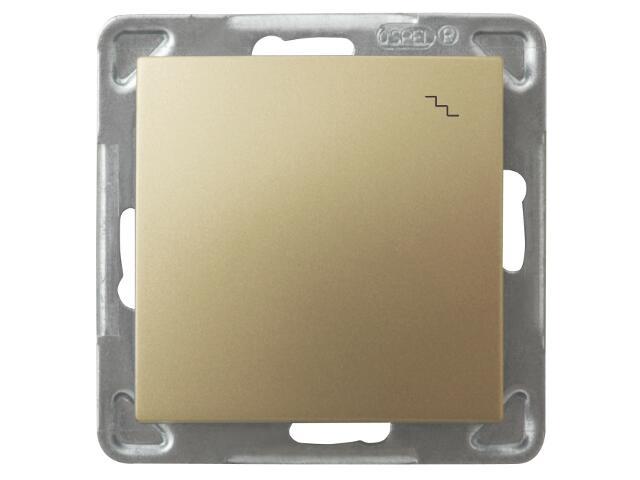 Łącznik modułowy IMPRESJA schodowy złoty metalik Ospel