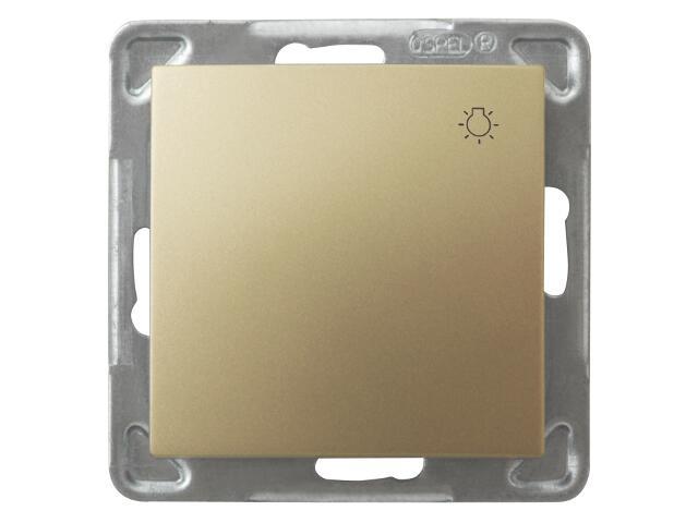 Łącznik modułowy IMPRESJA światło złoty metalik Ospel