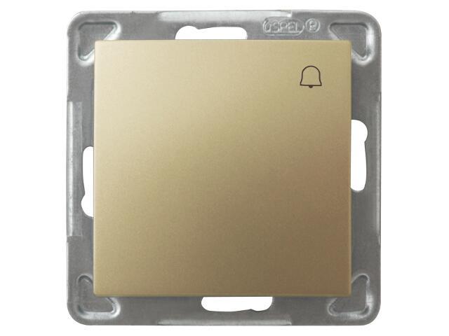 Łącznik modułowy IMPRESJA dzwonek złoty metalik Ospel