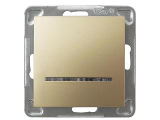 Łącznik modułowy IMPRESJA hotelowy złoty metalik Ospel