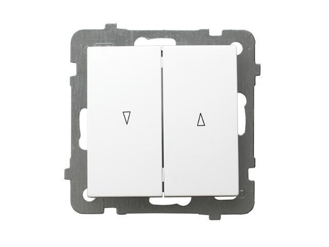 Łącznik modułowy AS żaluzjowy biały Ospel