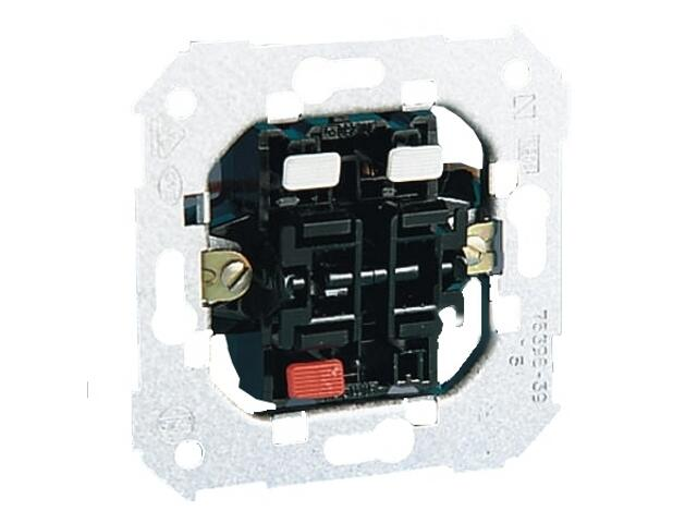 Łącznik natynkowy Simon 82 rozwierny - przycisk podwójny 75395-39 Kontakt Simon