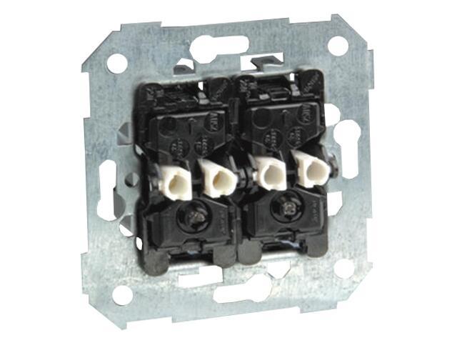 Łącznik natynkowy Simon 82 schodowy podwójny z podśw. 75394-39 Kontakt Simon