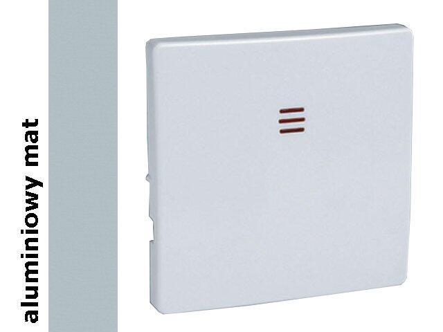 Klawisz Simon 82 pojedynczy światło 82016-33 aluminium mat Kontakt Simon