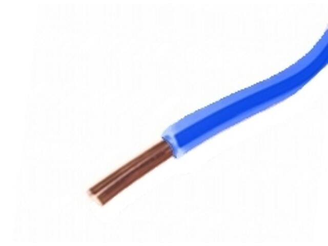 Przewód instalacyjny DY 1,5mm 300/500V niebieski Eltrim