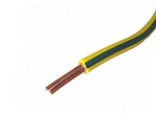 Przewód instalacyjny DY 1,5mm 300/500V żółto-zielony Eltrim