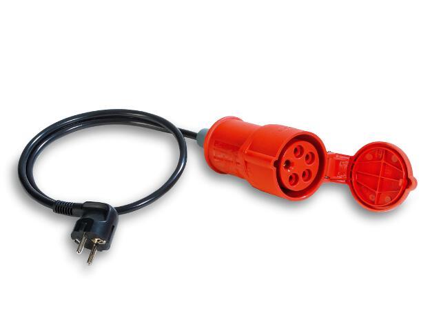 Adapter pomiarowy 16A CEE-Schuko 044122 Benning