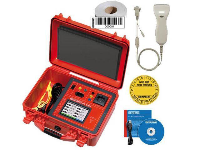 Tester urządzeń ST750 z akcesoriami 050311 Benning