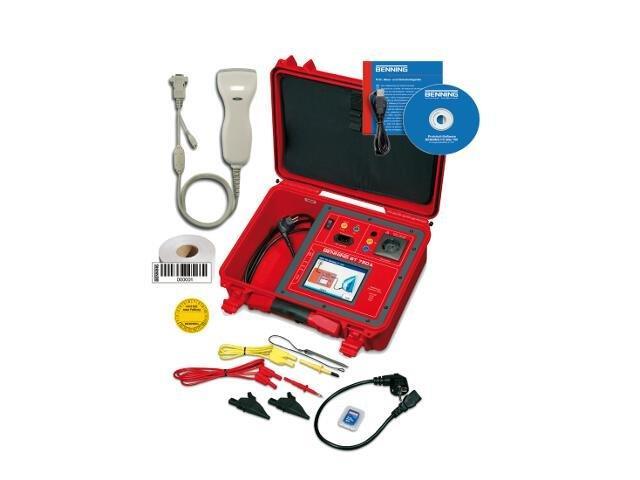Tester urządzeń ST750 A SET z akumulatorem i akcesoriami 050321 Benning