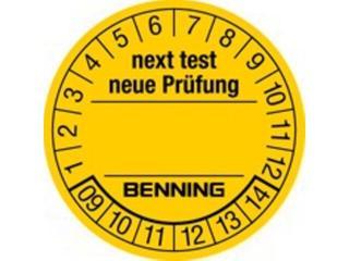 Naklejka testu 300szt.756212 Benning
