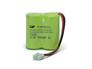 Akumulator niklowo-wodorkowy; 2.4V; 300mAh; 30AAH2BMU list 1 szt. GP Battery