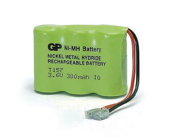 Akumulator niklowo-wodorkowy; 3.6V; 300mAh; 30AAM3BMU list 1 szt. GP Battery